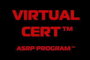 Virtual Cert ASRP Program