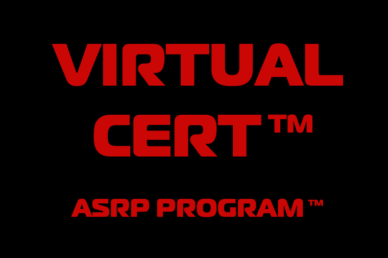 Virtual Cert ASRP Program